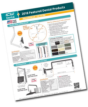 Download ICW's 2018 Dental Featured Product Brochure