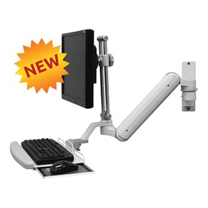 Icw Ergonomic Dental Computer Monitor Amp Keyboard Mounts