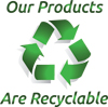 Our Products Are Recyclable